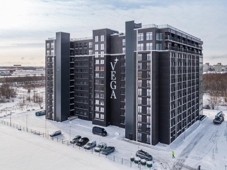 Lasnamäel valmis Eesti suurim korterelamu uusarendus