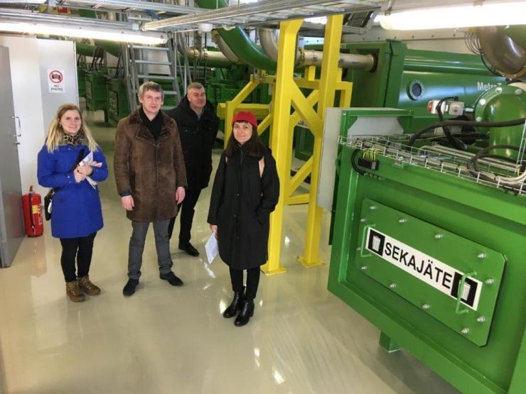 Tallinn ja Helsingi vahetavad kogemusi jäätmekäitluses