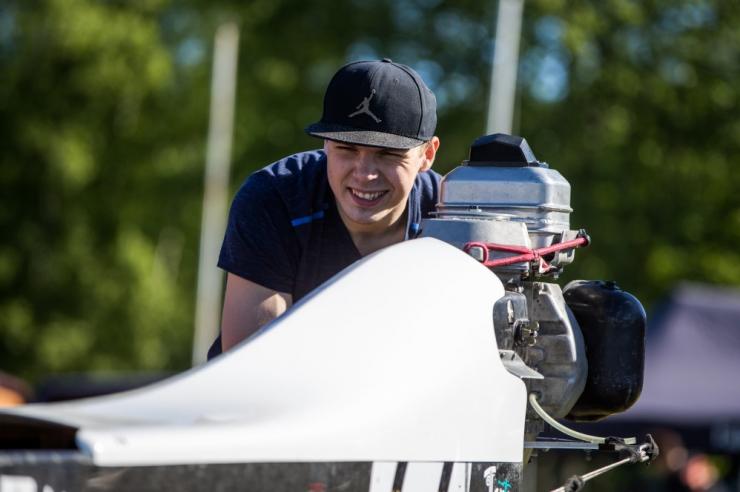 Maailma parimaks veemotosportlaseks valiti Rasmus Haugasmägi