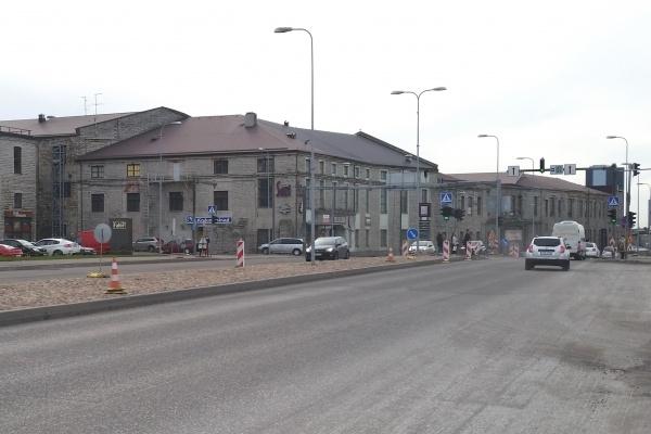 K. Türnpu tänaval algab remont