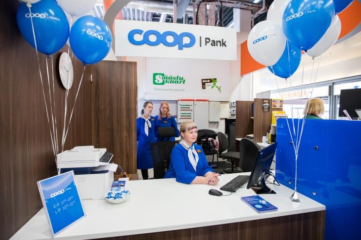 Ühistukapital omandas osaluse COOP Pangas
