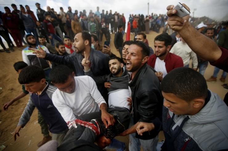 Gaza rahutustes on surma saanud 16, viga üle 1000 palestiinlase
