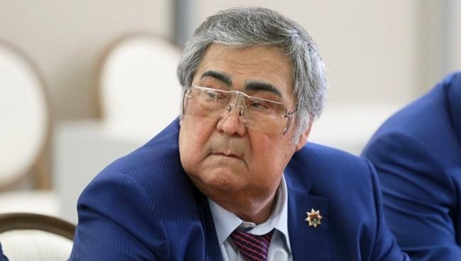 Kemerovo kuberner astus tagasi