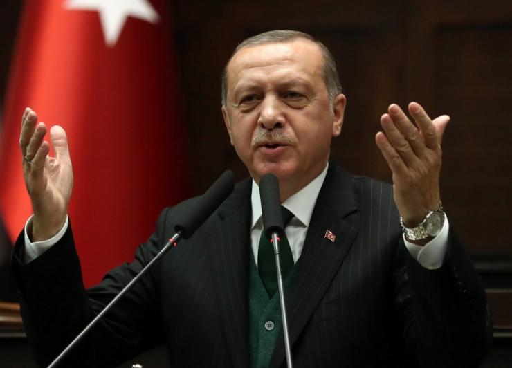 Erdogan nimetas Netanyahut seoses Gaza vägivallaga terroristiks