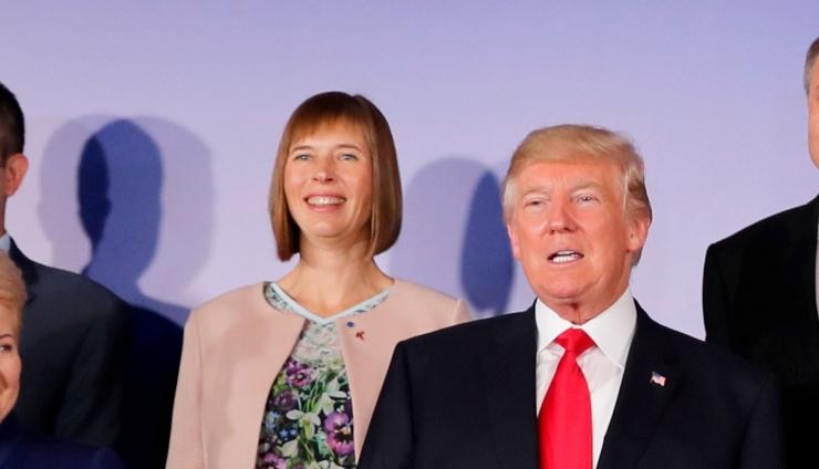 Kaljulaid sõidab Ameerikasse Trumpiga kohtuma