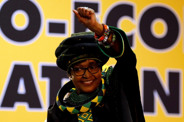 Suri Nelson Mandela abikaasa Winnie Mandela