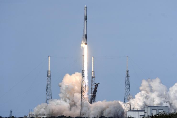 SpaceX saatis varustuslaeva Rahvusvahelisse Kosmosejaama