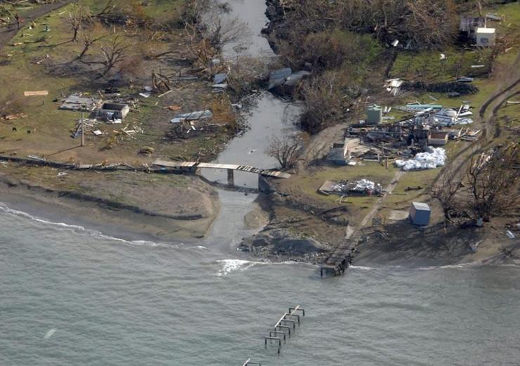 Fidži peaminister süüdistas tormis kliimamuutusi