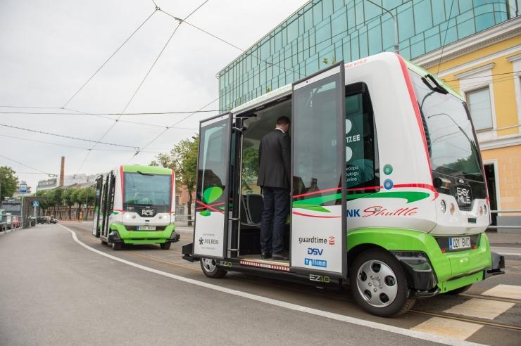 Tallinn plaanib avada kaks liini isejuhtivate bussidega