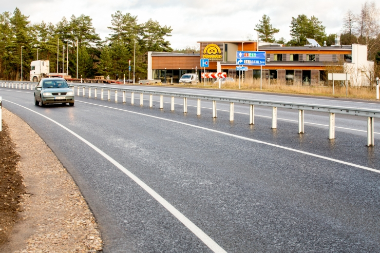 Rekonstrueerimisek suletakse Pärnamäe tee ja Narva mnt ristmik