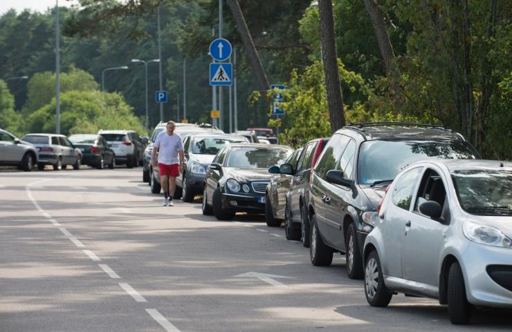 Merivälja tee muutsuunaline liikluslahendus rakendub alates 6. aprillist
