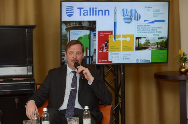FOTOD JA VIDEO! Aas:Tallinn tahab olla arenev ja liikuv linn