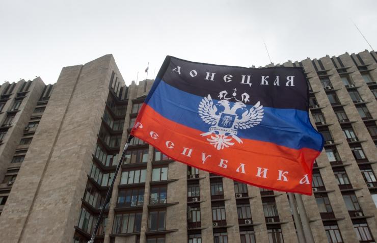 Isehakanud Donetski rahvavabariik tähistab neljandat aastapäeva