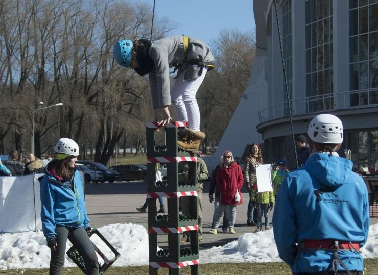 FOTOD! Tallinna Lauluväljakul avati Juubeliaasta suurim matkasari