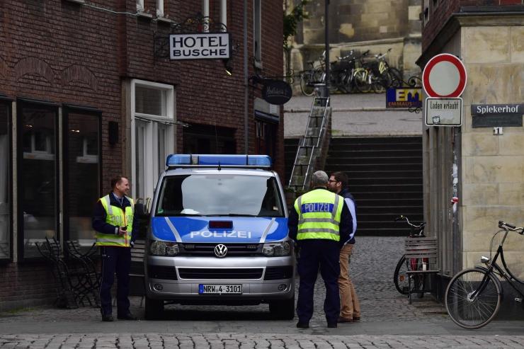 Politsei: Münsteri ründajal ei olnud kaasosalisi