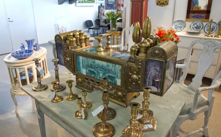 Tallinnas Lillepaviljonis peetakse Eesti Antiigimessi juubeliüritust