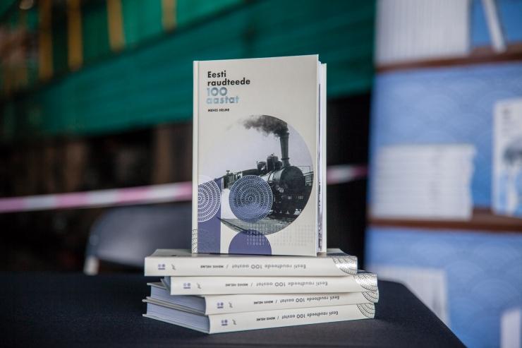 Eesti raudteede kujunemislugu köideti juubeliaastaks raamatusse