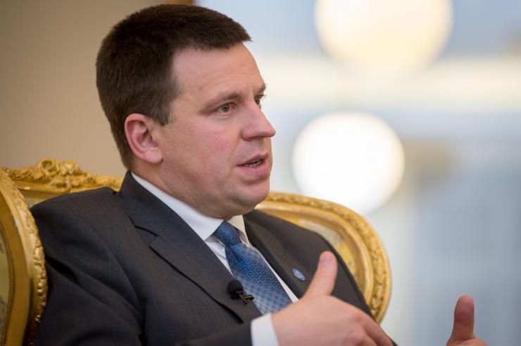 Jüri Ratas: tselluloositehase mõjuanalüüsidega tuleks edasi minna
