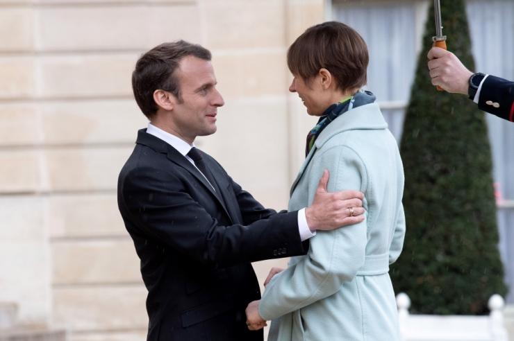 Macron: Prantsusmaa seisab kaitsevallas Baltimaade kõrval