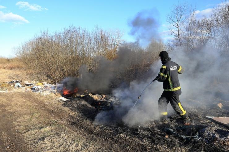 Päästjad: kulu põletamine on ohtlik ja keelatud