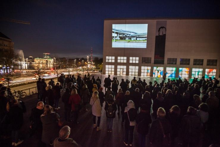 Hamburgi kunstnikud toovad kino tänavatele