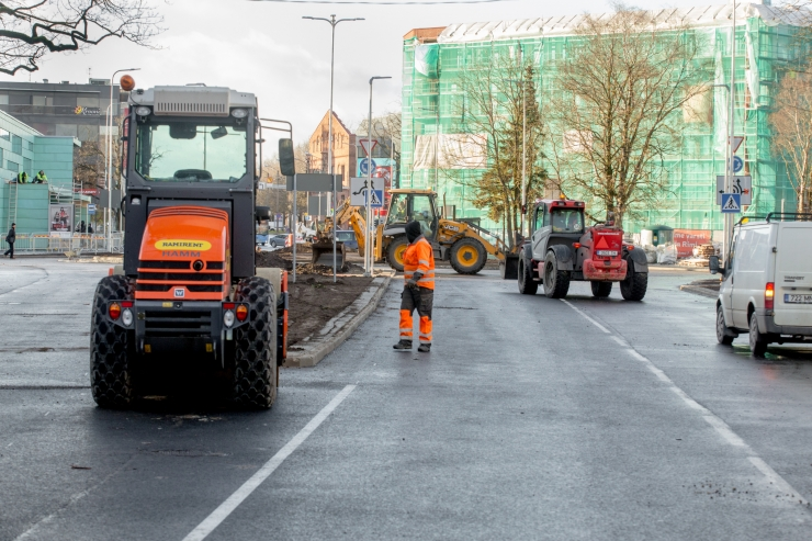Narva maantee ja Pärnamäe tee ristmikul suletakse liiklus