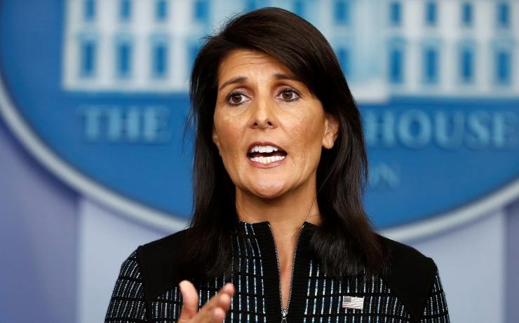 Haley: USA kehtestab Süüriaga seoses Venemaale uued sanktsioonid