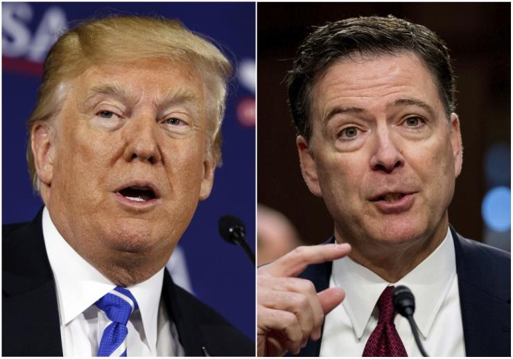 """Comey: Trump on presidendiks """"moraalselt"""" sobimatu"""