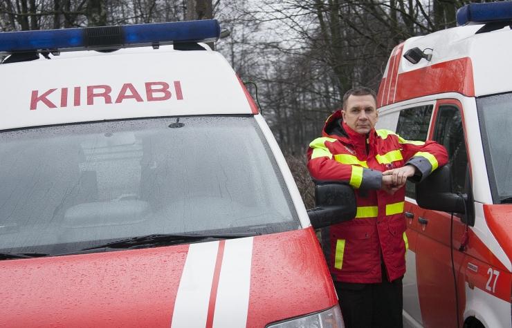 Tallinna Kiirabi juht Raul Adlas: tahame, et iga gümnaasiuminoor suudaks kaaslast elus hoida kiirabi tulekuni