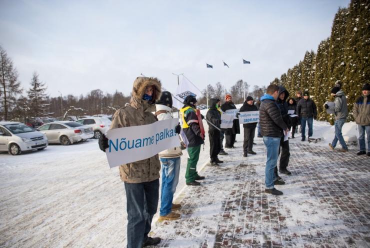 Rakvere Lihakombinaadi tapamajas lõppes streik