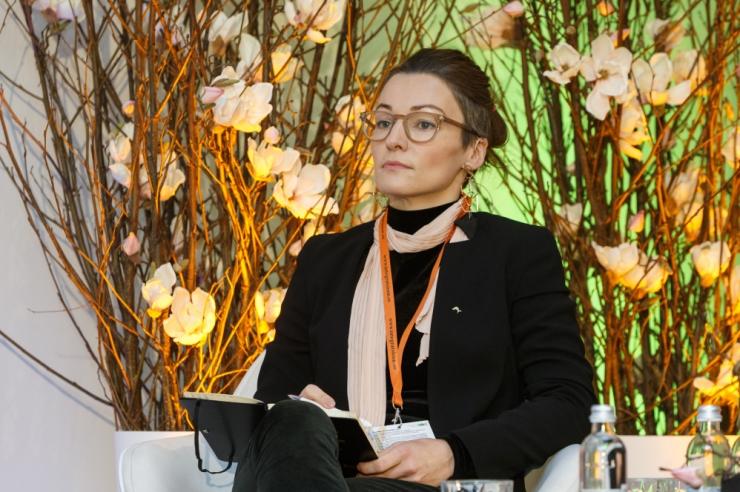 Yoko Alender tuli tagasi Tallinna linnavolikogusse