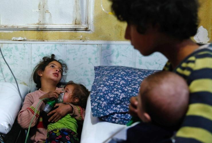 Briti saatkond: Süüria ja Moskva ei ole lubanud OPCW eksperte Doumasse