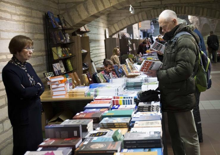 Tallinna Raamatumess meelitab lugejaid
