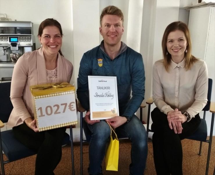 Lastefondi toetuseks koguti üle 1000 euro