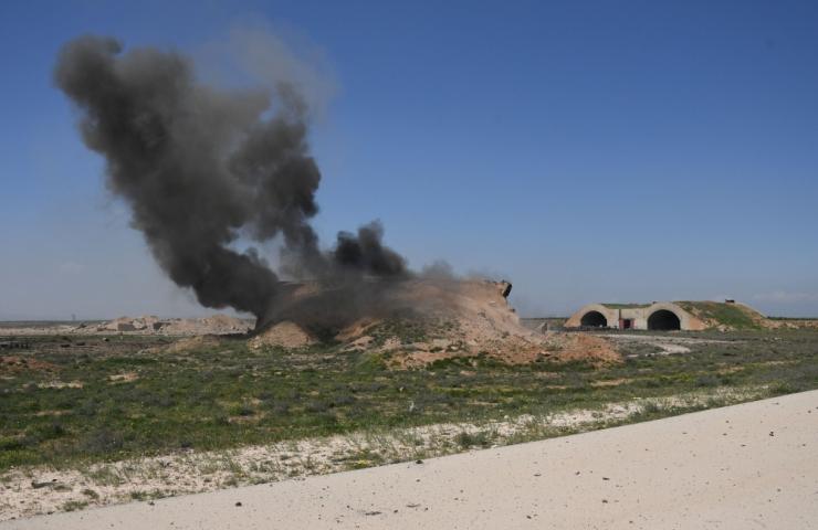 Riigimeedia: Süüria õhutõrje tulistas Homsi kohal alla rakette