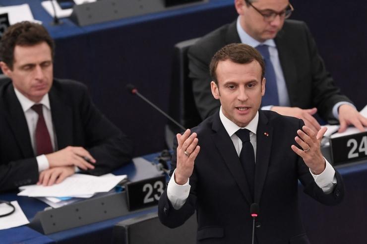 Macron: Prantsusmaa on valmis suurendama panust EL-i eelarvesse