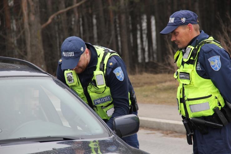 Täna alanud liiklustalgutel tabati juba esimesed kihutajad