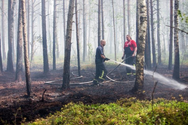 PÄÄSTEAMET: Täna algas Eestis tuleohtlik aeg
