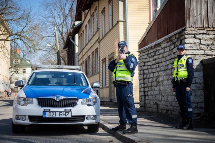 Liiklustalgutel noomiti rohkem kui 1000 juhti