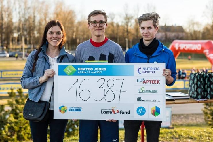 Heateo jooks kogub raha ravikodus elavatele psüühikahäiretega lastele