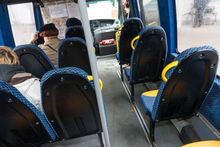 Pirital toimub ühistranspordi infotund