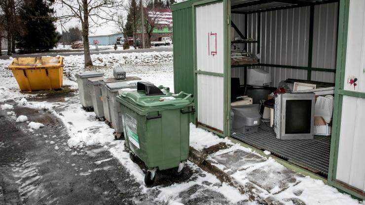 Tallinna linnaosades saab nädalavahetustel ära anda ohtlikke jäätmeid