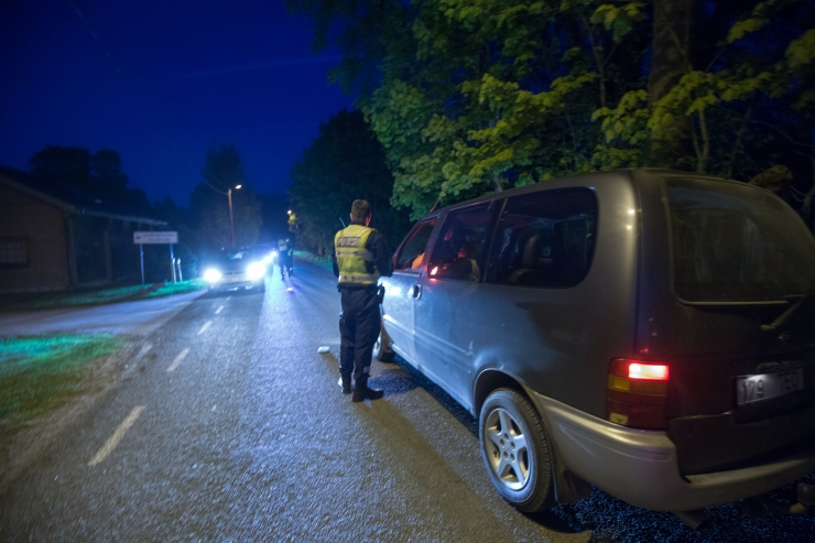 Politsei tabas ööpäevaga kümme joobes sõidukijuhti