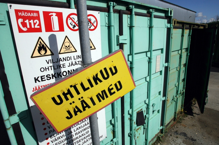 Ohtlike jäätmete kogumisringid jõuavad Kristiine-, Haabersti-, Kesklinna- ja Nõmme linnaossa