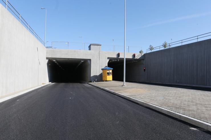 Hilisõhtul suletakse Ülemiste tunneli Lasnamäe suund