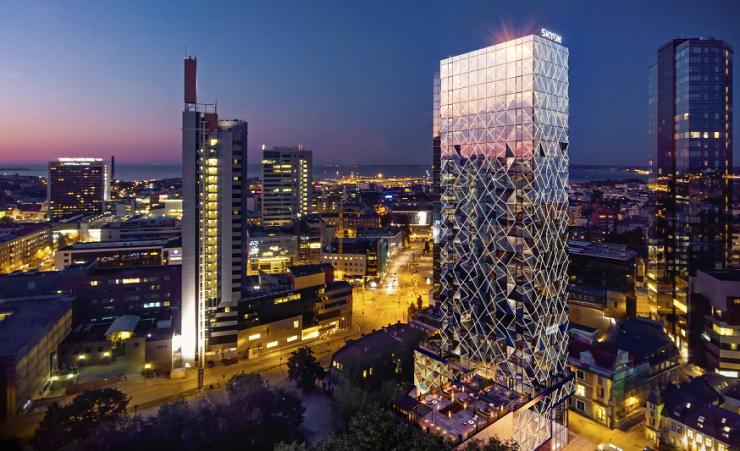 FOTOD! Capital Mill rajab Tornimäele pilkupüüdva pilvelõhkuja Skyon