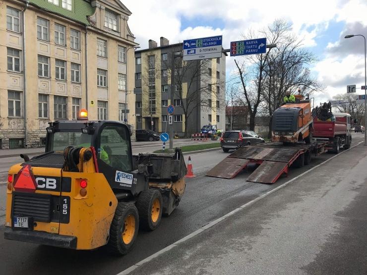 Uusarendus sulgeb ajutiselt Tuukri tänava