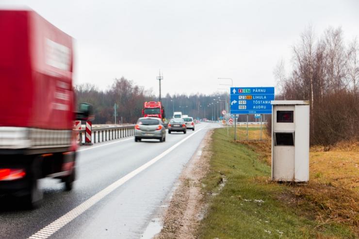 Kiiruskaamerad fikseerisid aprillis 7597 rikkumist