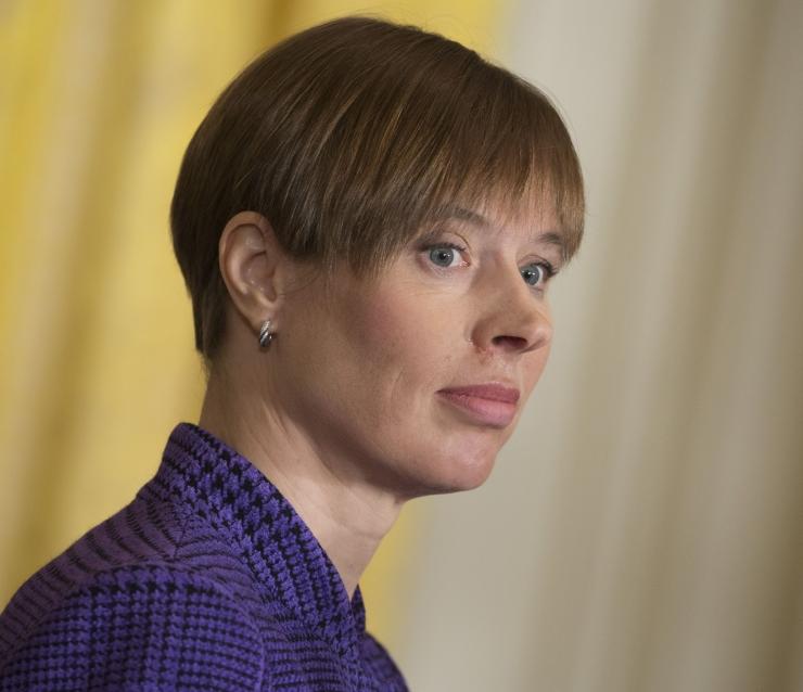 Kaljulaidi sõnul annab suurõppus Siil tunnistust Eesti kaitstusest