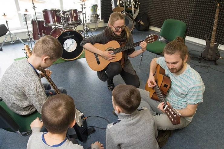 Põhja-Tallinna noortekeskus süstib uue bändiruumiga muusikapisikut